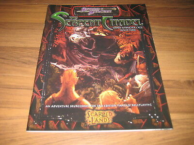 D&D 3.5 Scarred Lands The Serpent Citadel  Adventure Sword & Sorcery SC d20