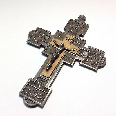 Vintage Stations of the Cross Crucifix