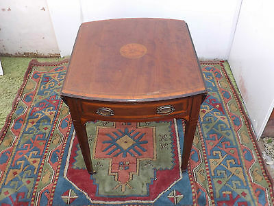 Pemboke table Edwardian inlaid mahogany