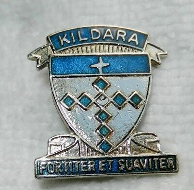 Kildara School 'fortiter Et Sauviter' Shield Badge