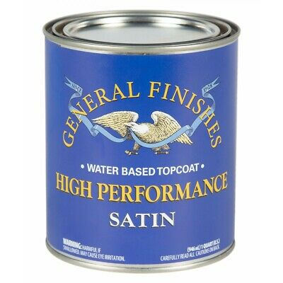General Finishes Water Based Topcoat Varnish Clear- Upcyling Shabby Chic 473ml