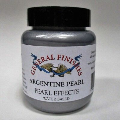 General Finishes Water Based Pearl Effects - Varnish stain Upcyling Shabby  90ml