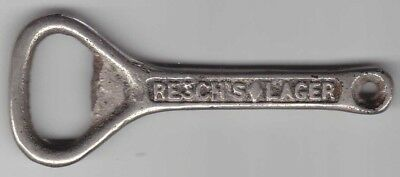 Resch's Diamond Lager Brewery Cast Iron Bottle Opener Old !!!