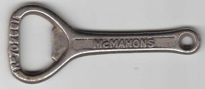 McMahons Soft Drinks Brisbane Cast Iron Bottle Opener Old !!!