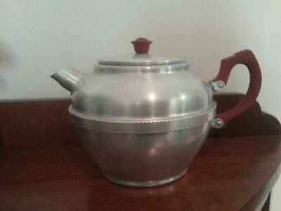 Collectable Aluminium/Bakerlite teapot