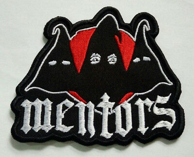 MENTORS Embroidered Patch Gwar Acid Bath GG Allin type o negative Ministry