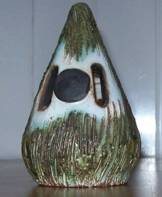 Vintage' Briglin Pottery' Money Box -Cone Shaped, c.1960,1970,Hand Crafted,