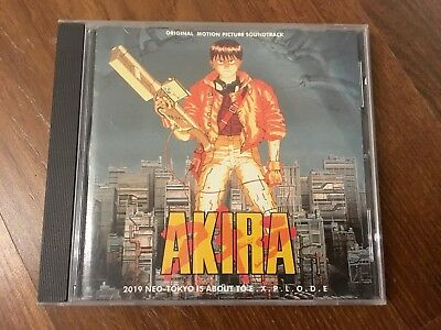 AKIRA - Original Soundtrack, OST CD - Picture Disc