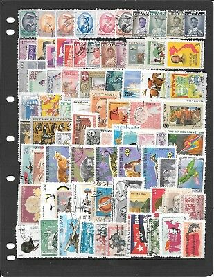 Vietnam And Asia S260 Coll Of Used Stamps