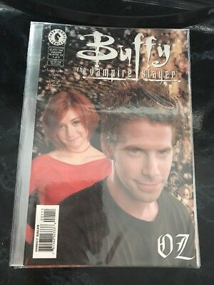 Oz - Issues 1-3 - Buffy The Vampire Slayer - Dark Horse Comics - Photo Covers