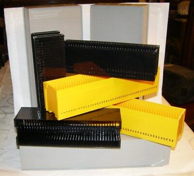 Assorted Slide Boxes and Carriers
