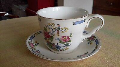 Vintage Lord Nelson Ware, Tsing, large cup and saucer