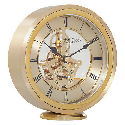 London Clock Company Round Carriage Clock, Gold rrp £85