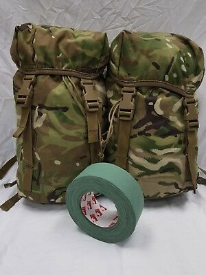 New MTP PLCE ECM Karrimor SF Side Pouches Pockets Pair with Free Sniper Tape