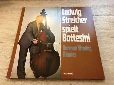 LP Ludwig STREICHER plays BOTTESINI Double-Bass Recital 1997 VINYL 180 GRAM