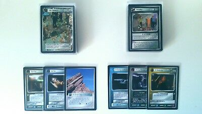 Star Trek CCG Trouble with Tribbles - Common/Uncommon Set - 84 cards - mint