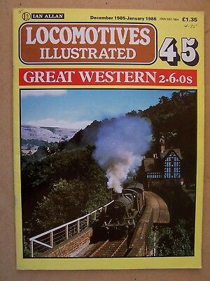"""""""LOCOMOTIVES ILLUSTRATED 45. GREAT WESTERN 2-6-0s."""""""