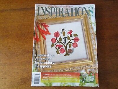 Inspirations Magazine Issue 73, 2012 Stunning Patterns To Embroider.