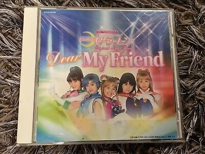 Sailor Moon - Dear my friend CD, Live-Action Series Pretty Guardian