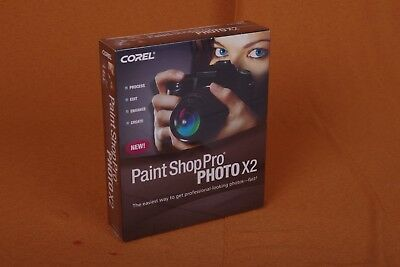 Paint Shop Pro Photo x2 in sealed Retail Box