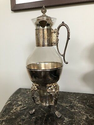 An Antique Silver Plated Teapot