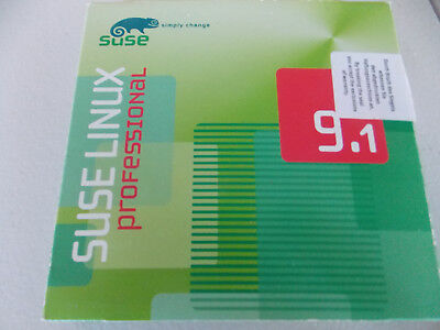 Suse Linux Professional 9.1 CD Pack