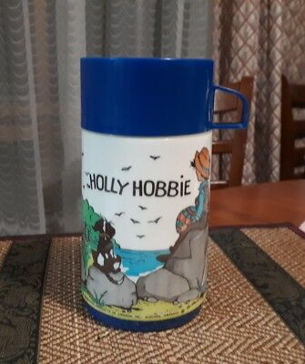 Vintage Holly Hobbie Aladdin Canada Thermal Bottle 1979