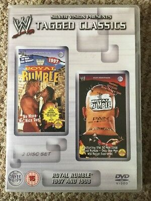 WWE Tagged Classics Royal Rumble 1997 & 1998 DVD WWF 97 98
