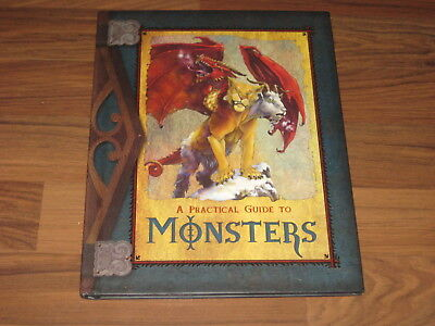 A Practical Guide to Monsters Hardcover Mirrorstone 2007 TOP