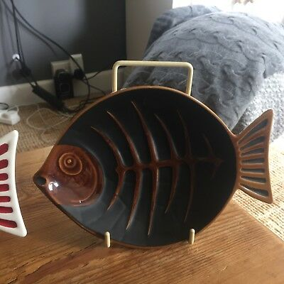 Beswick Brown Fish Dish/Plate Excellent Condition!