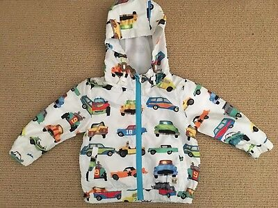 Next UK Cars Jacket/Light Rainjacket - Size 12-18 Months - EUC