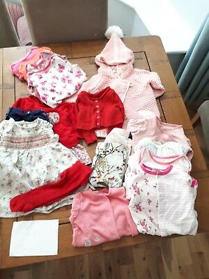 3-6 Months Girls clothing Bundle - NEXT, Ladybird ETC