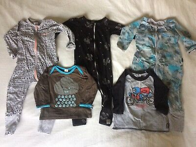 Baby Boys. Size 1 - Bonds, Little Horn, Bamboo Design, Mambo Mixed Clothing