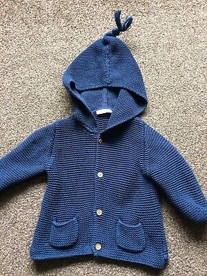 Baby Boy Next Navy Cardigan 3-6 Months