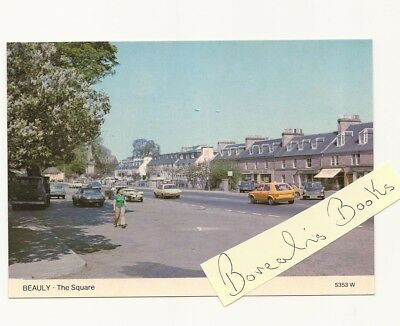 Postcard Inverness-Shire Beauly - The Square