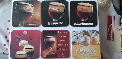 6 Sous Bocks Chimay Differents-