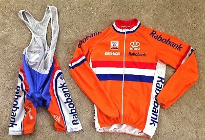 Official Netherlands Cycling Kit from 2010 World Cyclocross Championships