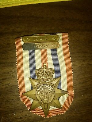 Dutch Medal For Peace And Order