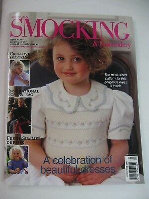 Issue 66 Australian Smocking & Embroidery Magazine Country Bumpkin OOP Coat Bag