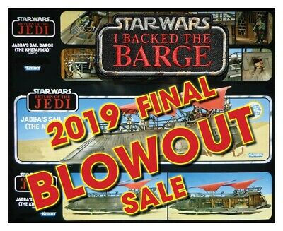 "BLOWOUT SALE!!  HasLab STAR WARS JABBA's Khetanna ""I BACKED the BARGE"" patch"