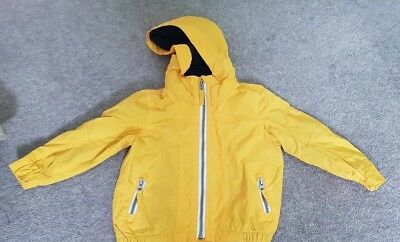 Blue Zoo 18-24 Months Yellow Boys Jacket