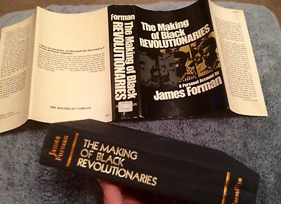 The Making of Black Panthers Revolutionaries Book 1972 1st Edition James Forman