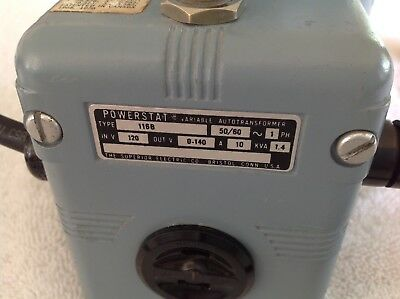 Superior Powerstat Variac/Auto-Transformer 10 Amp.