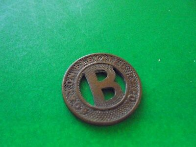 1900's Boston Elevated Rwy. Co. of Boston, Ma. Token