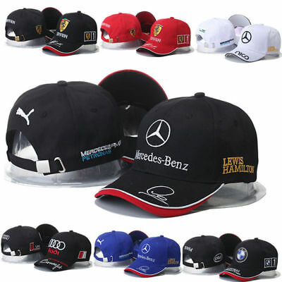 Mercedes-Benz² Logo AMG Car Cap Sport Baseball Hat outdoor Adjustab NEW