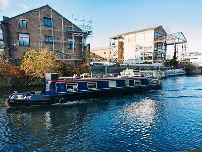 55ft semi traditional narrowboat based in London (new lower price)