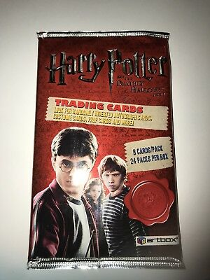 Harry Potter Deathly Hallows Part 1: Hobby Card Pack: FACTORY SEALED