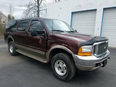 2001 Ford Excursion Limited 2001 Ford Excursion 7.3  diesel AWD  low miles