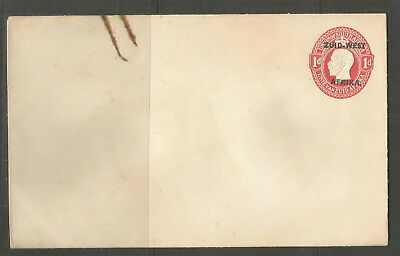 Union of South Africa overprinted Zuid West Afrika 1 d Georg V