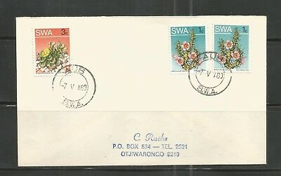 South West Africa Cover Postmark Aus 07.05.1980